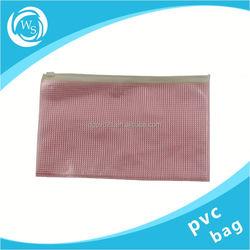 ziplock clear pvc pouch