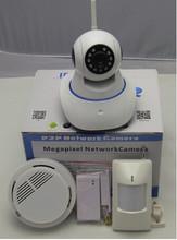 HD 720P Video 2CU Wireless Linkage Alarm! burglar alarm systems