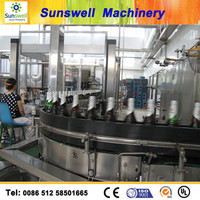 High Quality Juice Beverage Producing Machinewith glass bottle