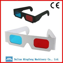 Wholesale cheap custom paper anaglyph 3d glasses