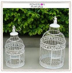 2015 Shabby Chic Iron Bird Cage Garden Decoration