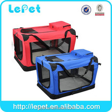 Extra-large Pet Carrier Crate Portable Soft Pet Crate with Carrier Strap