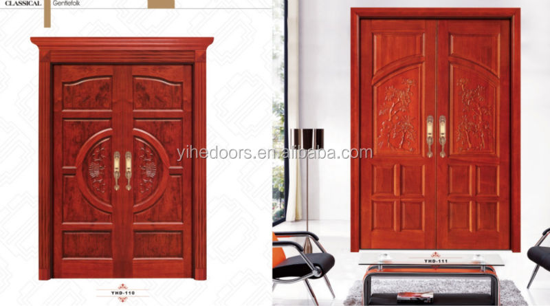 China Main Entrance Door Luxury Front Door Caving Designs