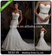 Elegante frisada flores de tecido para vestidos de casamento preço