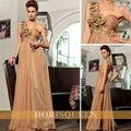 dorisqueen liquidación en venta barato real de la muestra elegante flores plisado vestido de traje formal 30720