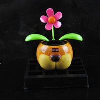 hot selling,for gift swing sun flower car interior decoration