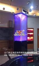 Interior design for cafe acrylic plexiglass led aquarium bubble best decorating ideas