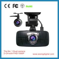 Ambarella A7LA70+SONY IMX322 Dual Lens Car Camera Dash Cam with 170 degree View Angle, ADAS Setting, WDR, HDR