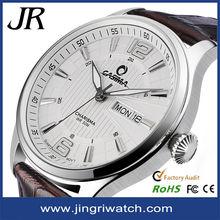 Military watch for genuine leather watch,custom oem watches .ebay japan movt quartz wrist watch
