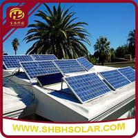SJ Series Ground Aluminum Solar Panel Power Bracket