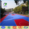 Antislip outdoor PP interlocking basketball sport floor