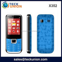 X352 2.4inch cheap small size techno import mobile phones from China