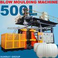 500l tripla camada tanque de moldagem por sopro extrusão máquina