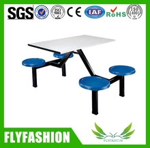 2015 Hot Sale Modern canteen tables and chairs/Wood restaurant furniture