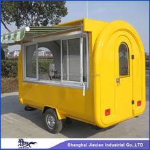 Shanghai Jiexian FR-280H widely used food trucks /Street Fashion ,Customers favorite Electric Dining car/mobile vending trucks