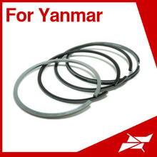 Taiwan Rik TS105 piston ring for Yanmar agricultural diesel engine parts