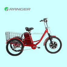 large tricycle with 36V 12Ah lead acid battery