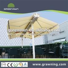 terrace sunshade awning