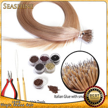 """Best quality Eurasian remy hair nano hair extensions 100stand hair +100beads 18""""-28"""" in stock"""