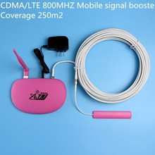 home CDMA 800 mhz 2g 3g cell phone signal booster