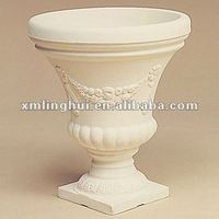 Roman Resin Outdoor Flower Pot Urns