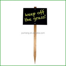 Wooden Yard Decor Garden Stake Words Sign Ornament