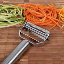 Ultra Sharp Dual Julienne Peeler & stainless steel Vegetable Peeler, kitchen tools