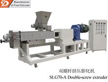 Dog food extruder machine for pet pellet food /dog cat food snack with big capacity of 300-500kg/h