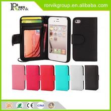 Dropshiping carteras cell phone case for iPhone 4 from china supplier