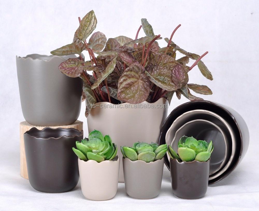 Modern Household Decoration Ceramic Pottery Flower Planter