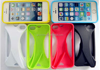 Newest design soft tpu gel cover loud speaker case for iphone 5s 5g