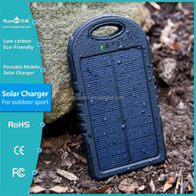 Charger case for mobile phone 5000 mah Solar mobile power bank
