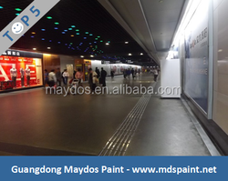 High Performance Paint! Maydos Lithium Base Anti Slipping Concrete Floor Densifier For Shopping Mall