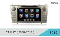 DJ8019 Best-selling car dvd player car radio for Toyota Camry with GPS exteranal TV 1080P HD disc play external 3G etc.features