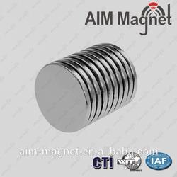 Overcoat Button Small D15 x 1.5mm Neodymium Magnet