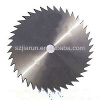 Rotating shredder knife/cutting blade