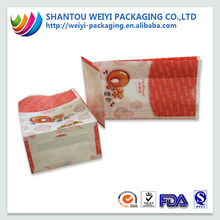 2015 New products custom printed french fries paper bag