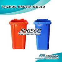 240 liter environmentally friendly dustbin, industries plastic waste bin contenair, trash container steel material mould
