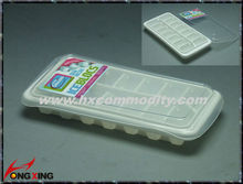 Fashion plastic ice cube tray with lid