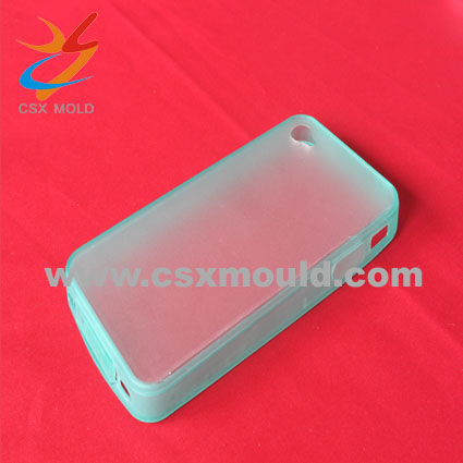 Plastic mobile phone cover