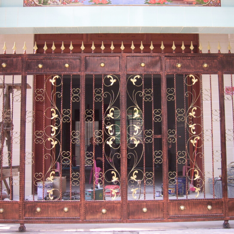 Front gate designs india joy studio design gallery for Indian house main door designs