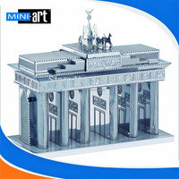 3D Metal Brandenburg Gate