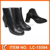 Top sale guaranteed quality high heels women snow boots
