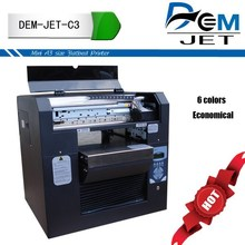A3 size Digital flatbed printing machine pen printer digital printing multicolor
