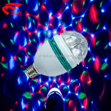 2015 super star LED Disco light Party light rgb rotating light wholesale