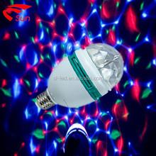 2015 super star LED Disco light Party light rgb rotating light wholesale