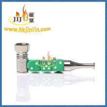 Yiwu jl-376 jiju miglior sito web per acquistare porcellana cinese pipe, metallo pipe