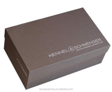 Printed Shoe Boxes With Hot Foil Stamping
