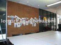 cork tile for bulletin wall