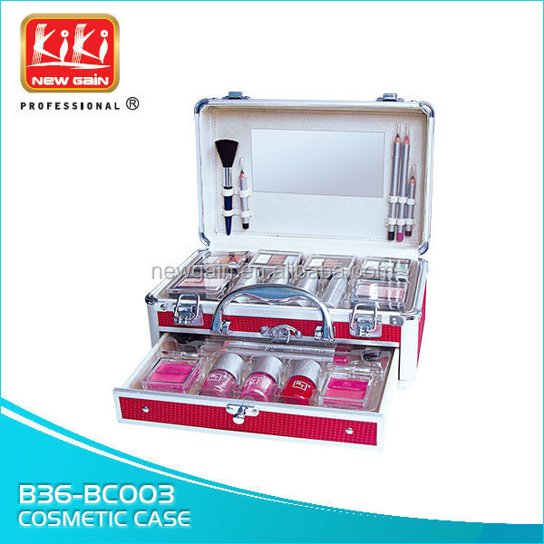 Beauty Case.cosmetic box.Cosmetic case.aluminium makeup case
